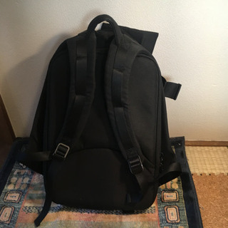 Coet & Ciel Isar Lサイズ ブラックキャンバス地 リュック バックパック 12000円 - 靴/バッグ