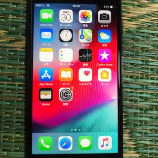 ロック解除済!iPhone7,jet Black,32GB 中古美品