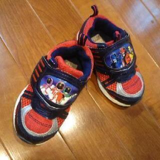 子ども靴  パト&ルパンレンジャー 15㎝