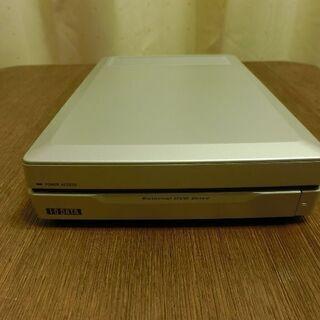外付DVDマルチドライブ I・O DATA DVR-UM16CR