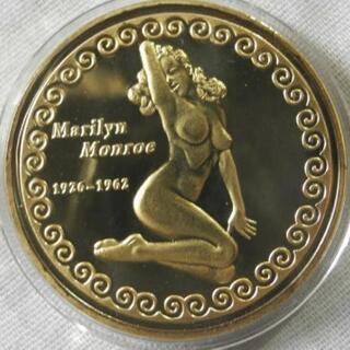◆◆◆マリリン・モンロー★コレクションコイン 記念メダル エナメル...