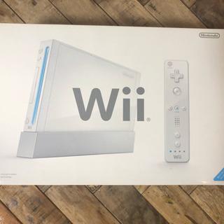 【取扱説明書・箱付き】Wii本体・コントローラ4つ+a