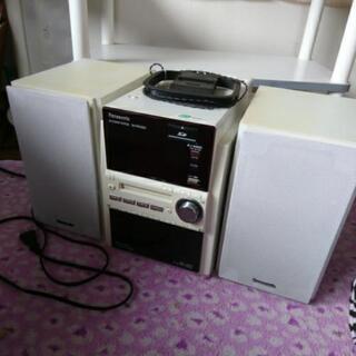 パナソニック カセット MD CD コンポ