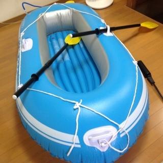 ビニールボート(^ ^)