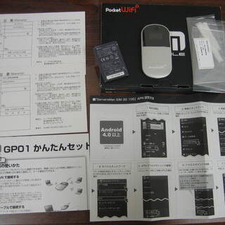 EMOBILE Pocket WiFi GP01 白ロム