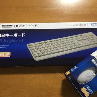 ★♪新品キーボード&マウスセット★白♪★