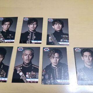 ジエイソウルブラザーズメンバーカード全員有ります。差し上げます。