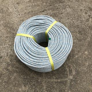 未使用、ロープ、太さ6ミリ100メートル巻き