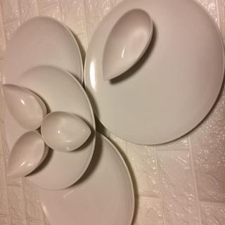 大皿&船形ボール 4セット