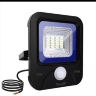 LED投光器 センサー式 10W 明暗と人感センサー