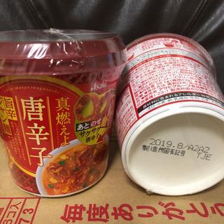 春雨スープ アサヒ真・燃えよ唐辛子 旨辛ジャン麺 12個セット