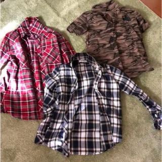 メンズ、レディース、シャツ