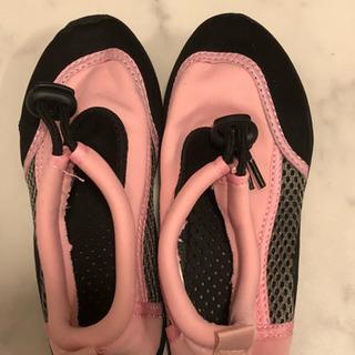 水辺用の靴 サイズ18-19