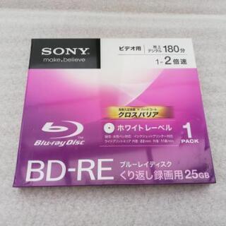 SONY 録画用BD-RE くり返し録画用 2倍速 25GB  ...
