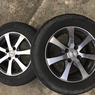 タイヤ二個のみ  14インチ