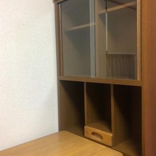 無料 本棚と机セット二台