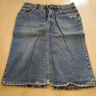 デニムのスカート