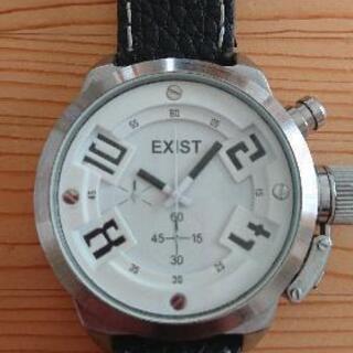 EXISTクォーツ腕時計(断捨離コレクション整理の為)