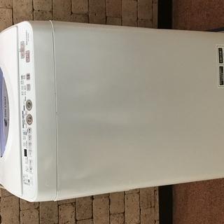 中古 乾燥機能付き 洗濯機 シャープ SHARP ES-TG55...