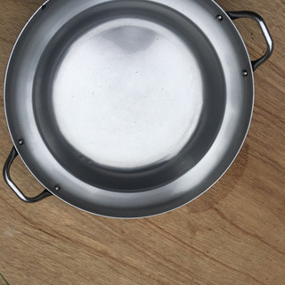 ステンレスの鍋 ホンモン鍋や水炊きで使われる鍋