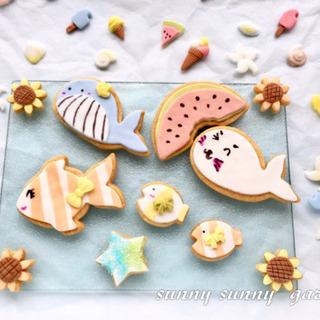 夏休み!親子で!お友達と!お手軽簡単デコクッキーを作ろう♪
