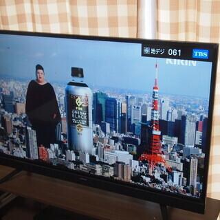 マクスゼン42型 液晶テレビ J43SK03 2018年製