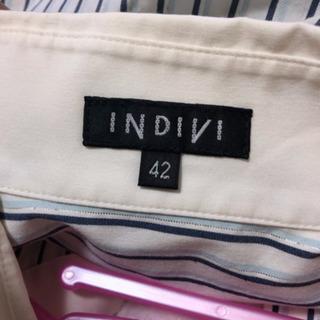 INDIVI ワイシャツ  42サイズ - 廿日市市