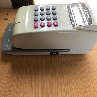 値下げ、NIPPO電子チェックライター