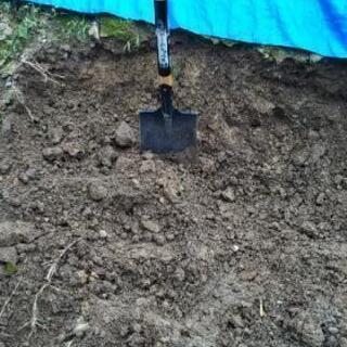 庭の土! 取り放題で0円です!!