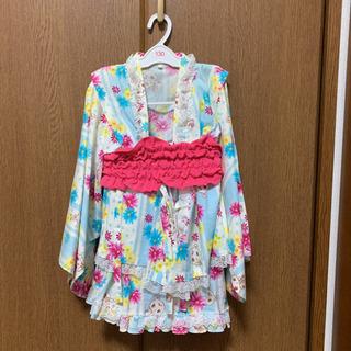 女の子用ゆかたドレス