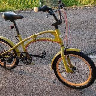 折りたたみ自転車  6変速 意外と綺麗。