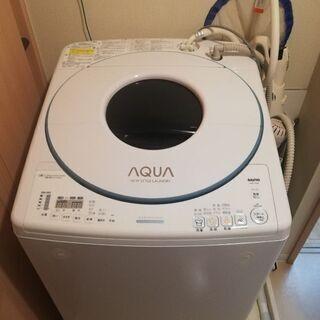 三洋電機 SANYO AWD-TQ80 8.0kg 電気洗濯乾燥...