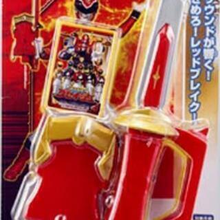 ②コレクター必見⚔️戦隊戦士のサウンド剣とカード(新品未開封)⚔️