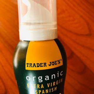 *米国*Trader Joe's 有機 オリーブオイル スプレー