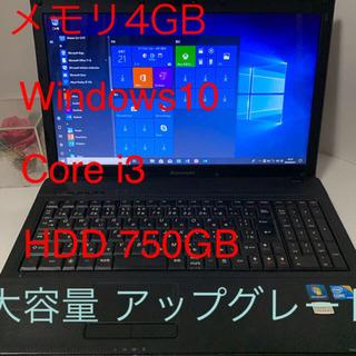 ⭐️Lenovo G560 大容量メモリ4GB Corei3 W...
