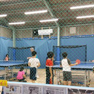 🏓鳥栖市の『鳥栖卓球センター』で卓球教室・クラブ会員募集‼️