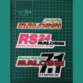 3枚セット☆MALOSSI☆正規ステッカー