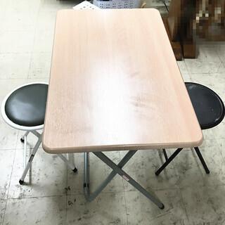3点セット テーブル + 椅子 ★T7