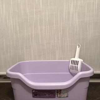 あげます!✳️猫用トイレ  中古です