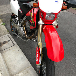 HONDA XR250モタード