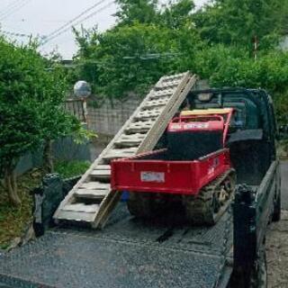 重量物の移動運搬・不整地での運搬