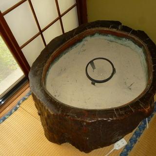 アンティーク火鉢