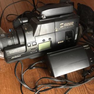 Victor  S-VHS  ビデオカメラ