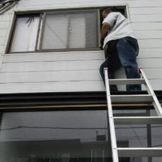 網戸の張替 窓ふき などしませんか? 札幌市便利屋タクミ
