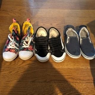 子供靴vansスニーカー