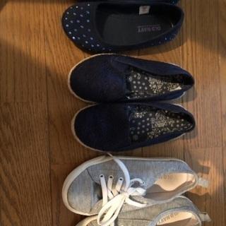 子供靴オールドネイビー美品