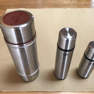 3種類のMADE IN JAPANステンレス携帯魔法瓶(1L、5...