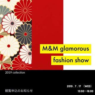 M&M glamorous fashion show 20…