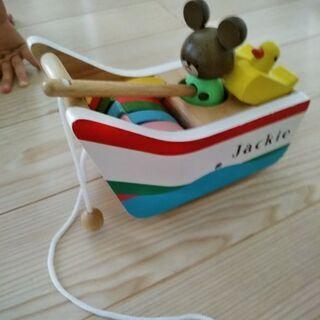 くまのJackie 魚釣りおもちゃ