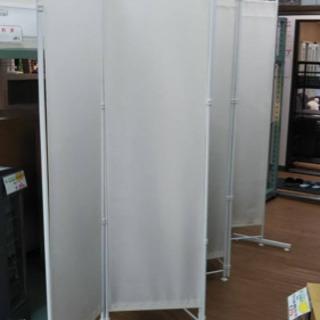 【リサイクルサービス八光 田上店 配達・設置OK】ホワイト ついたて